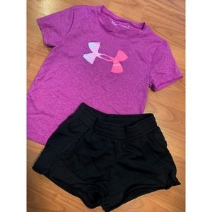 Under armor children's outfit